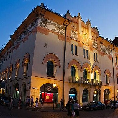 Theatre facade.