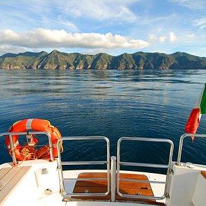 Profilo dell'Isola di Capraia
