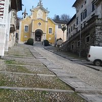 Orta - la chiesa parrocchiale di Santa Maria Assunta