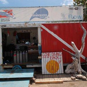 Our shop @ Marie Pampoen.