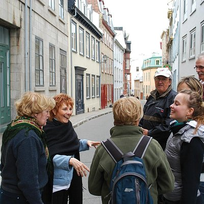 A walking tour in Quebec City