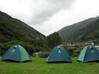 Camping At Salkantay Trek