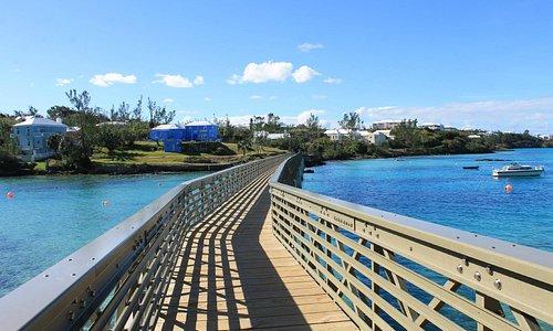 Beautiful new bridge just constructed