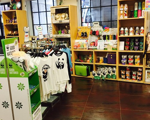 Inside the visitor centre & gift shop