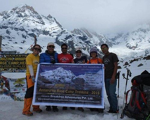 Annapurna Base Camp Trek with Breakfree Adventures