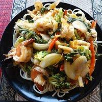 Spaghettis seafood