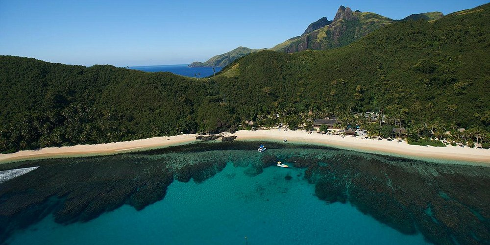 Fiji's exotic islands, only a flight but another world away