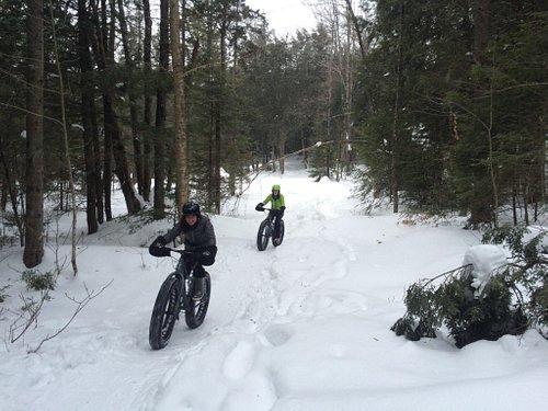 Single track Fatbiking - felt just like mountain biking :)
