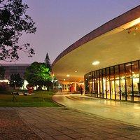 Fachada do Museu de Arte Moderna de São Paulo