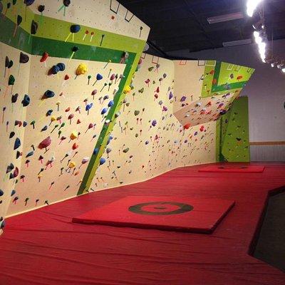 New Boulder Wall