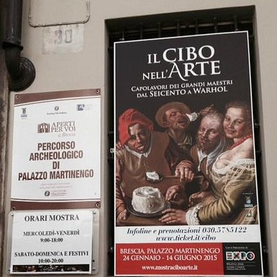 il Cibo nell'Arte - Brescia