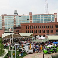 Food Trucks gather Tuesday nights from May - October plus live music