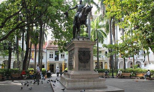 Plaza Bolivar, Cartagena