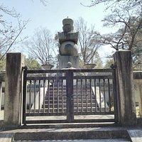 豊国廟の石塔