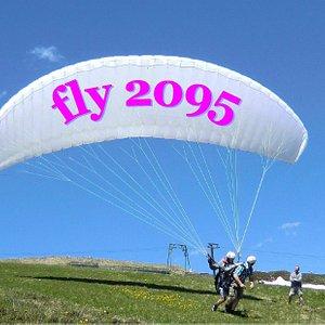 Flieg mit uns von 2095 m