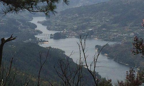 breathtaking view to the river Arado