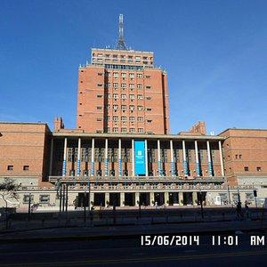 Palacio Municipal de Montevideo.