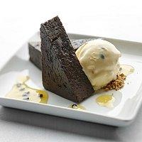 Delicious dessert small plate