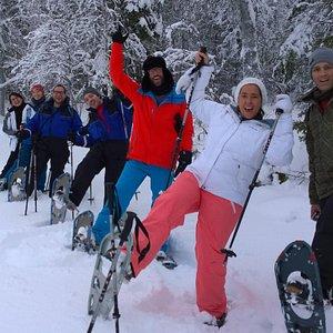 Snowshoe tours and fun outdoor activities