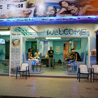 magic fish faliraki fish spa