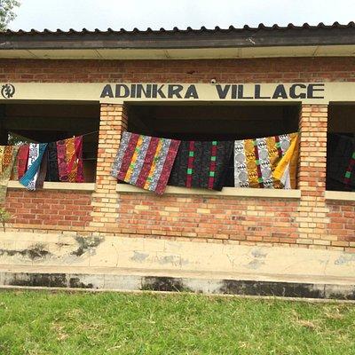 Ntonso Adkinra Village
