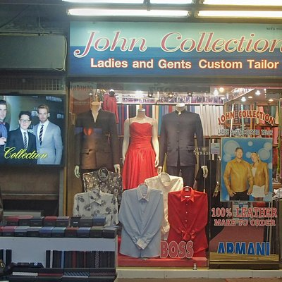 John Collection Tailors in Bangla Road, Patong