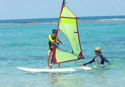 Windsurfing in Cesarea