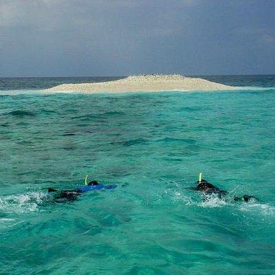八重干瀬の一番遠いウツグスのバラス島1 秘境中の秘境
