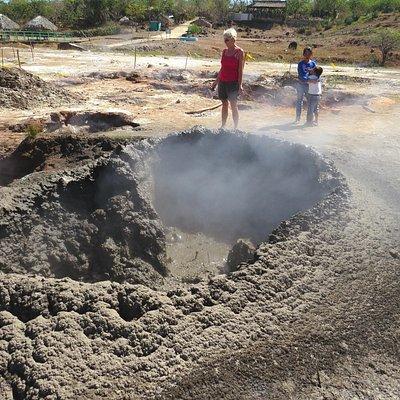 children's mini volcano