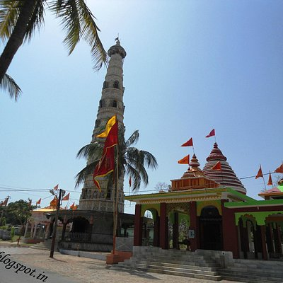 Beautiful view of Temples at Angrabadi Temple complex, Khunti, Jharkhand