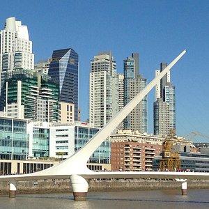 Calatrava´s Bridge of the woman - Puerto Madero