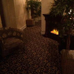 Part of the relaxation hall! Absolutely beautiful and relaxing!!!