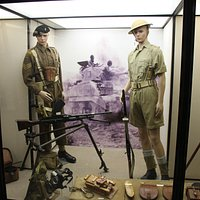 World War 2 display.
