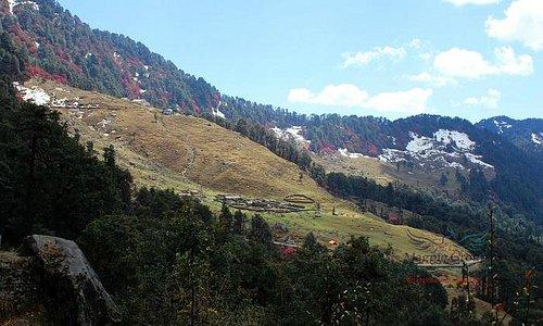 scenic beauty of Chopta