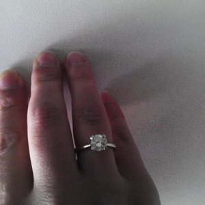 My engagement ring bought couple of years from GoldM Michalopoulos jewelery shop in Zakynthos to