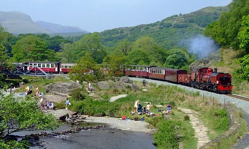 Welsh Highland Railway at head of the Aberglaslyn Pass