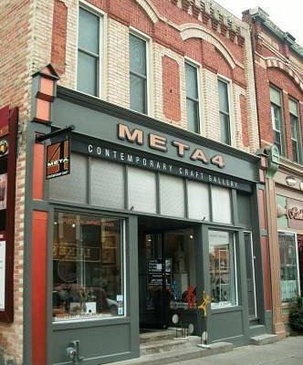 META4 Gallery is centrally located, beside the Post Office
