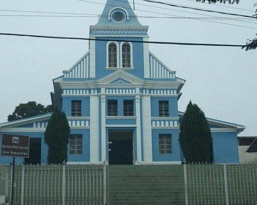 Igreja Matriz São Sebastião - Brumadinho MG