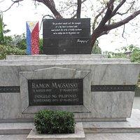 Honoring President Magsaysay