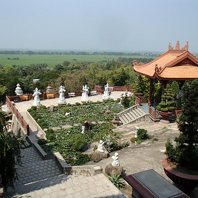View from the top of the pagoda