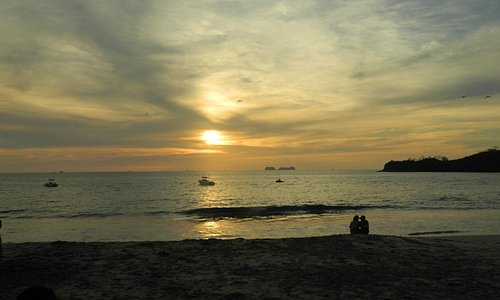 Beautiful sunset during ATV/Snorkeling excursion