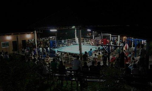 Fight Night crowd