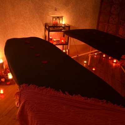 Cabine double de Massage