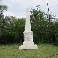The Captain Cook monument.