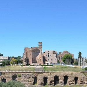 Temple of Venus and Rome [Piazza del Colosseo, Rome]