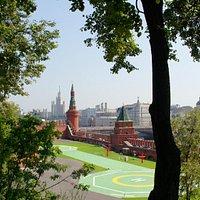 Кремлевский Сквер и Тайницкий Сад