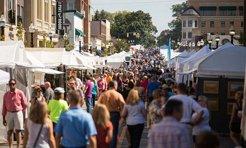 The Carmel International Arts Festival in the Carmel Arts & Design District.