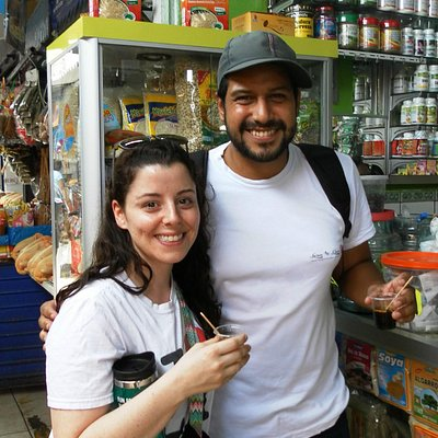 Our co-founder and local guide Jose takes you to try new things in a traditional Peruvian market
