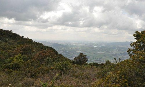 Vista hacia la Sabana de Bogotá