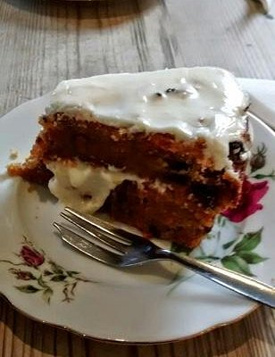 Exceptional carrot cake